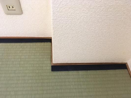 畳切り欠き加工の画像