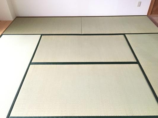 畳表替の画像
